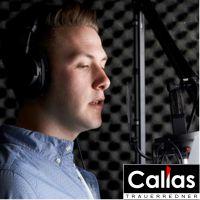 Callas Trauerrede Audio. Zum Abspielen und als Erinnerung