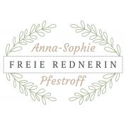 Freie Rednerin Anna-Sophie Pfestroff