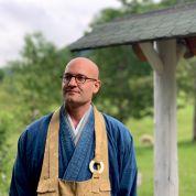 Zen Mönch Marcel Reding